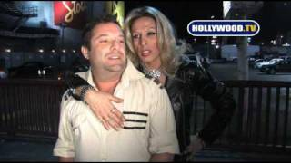 Alexis Arquette Slaps A Man At Avalon.