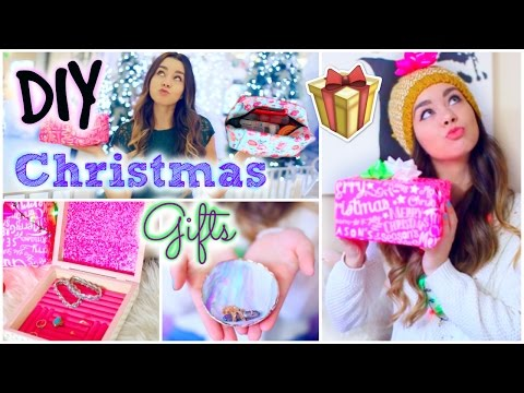 DIY Holiday Gift Ideas! Easy & Affordable Christmas Presents!