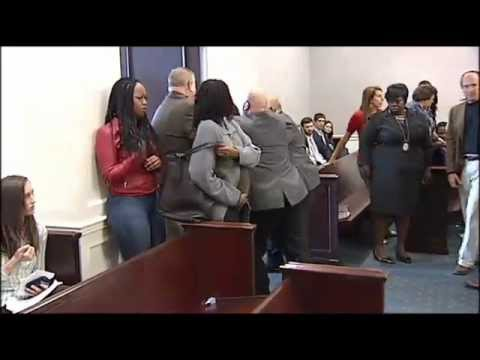 Two Women Collapse After Getting Life In Prison ( 3 years old girls death ) screaming in the court