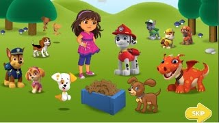 PAW PATROL in Puppy Playground by Nick Jr. Online Free Kids Games