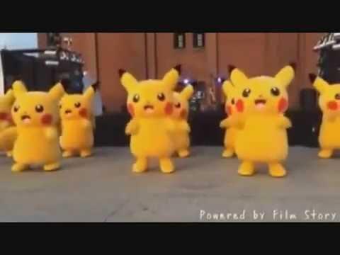 parade tarian pokemon, dance pokemon