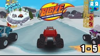Blaze and the Monster Machines -  Snowy Slopes Track 1 - 5