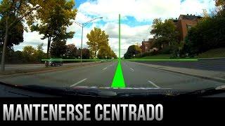 Cómo mantenerse centrado en su carril - Consejos de conducción