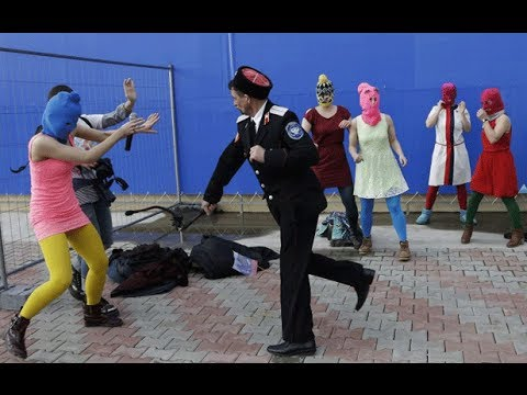 Xxx Mp4 Pussy Riot Attacked With Whips By Police At Sochi 3gp Sex
