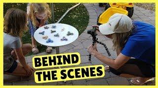Metallic Fidget Spinners ~ Behind the Scenes ~ DreamWorks Trollhunters Tales of Arcadia Toys!