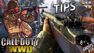 Top 5 Most IMPORTANT Tips in COD WW2!