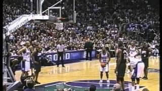 Ray Allen 41 pts, Allen Iverson 46 pts,, eastern-finals 2001 bucks vs 76ers game 6