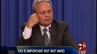 Himself Vex With Himself - Imbert Says Property Tax A Necessary Evil