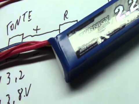 Aeromodelismo carregador de bateria lipo custo um real parte 1