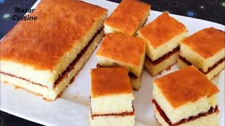 Cake MurabbaDar کیک مربادار ,Sponge Cake Recipe Simple Sponge Cake For EID Jam Cake