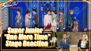 """[SectionTV Kpop] Super Junior """"One More Time(Otra vez)"""" Comeback stage reaction!"""