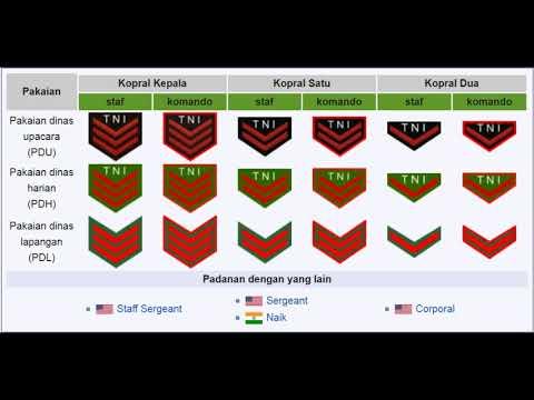 Tanda Kepangkatan TNI