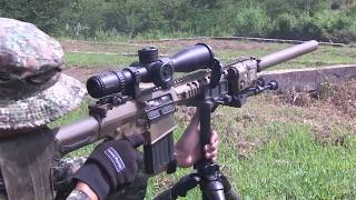 US and  Philippine Marines  Conduct  Fully Automatic Weapons  Live  Fire