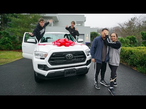 SURPRISING OUR DAD WITH HIS DREAM BIRTHDAY GIFT