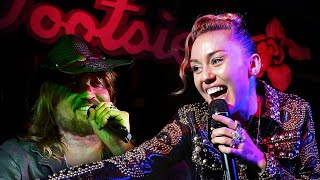"Miley Cyrus & Billy Ray Cyrus ""Achy Breaky Heart"" Spotify Fans First LIVE Duet in Nashville, TN 2017"