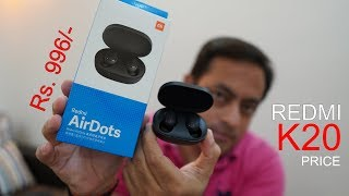 Mi Redmi AirDots Best Bluetooth Earbuds For Under Rs. 1000, Redmi K20 Price, Poco F2 India Price?