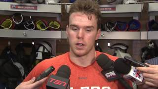 "McDavid ""pretty shocked"" concussion spotter pulled him from game"