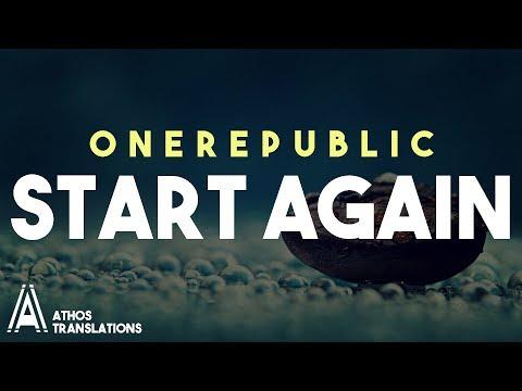OneRepublic ft. Logic - Start Again |TRADUÇÃO| (By: Athos™)