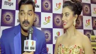 IBFA 2017 || IBFA RED CARPET SEG 02 || PAWAN SINGH AND AKSHARA SINGH IN IBFA LONDON 2017