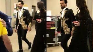 Atif Aslam with Wife Sara at 6th Hum Awards| Red Carpet| Atif Aslam|