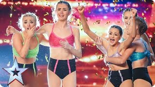 Alesha makes Just Us' dreams come true | Auditions Week 2 | Britain's Got Talent 2017