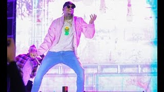 Chris Brown, Wizkid and Ali Kiba Performance at Mombasa Golf Club