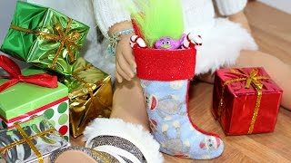 Doll Christmas Stocking | DIY American Girl Doll Crafts