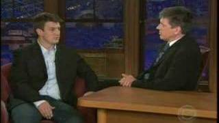 Nathan Fillion on the Late Late Show