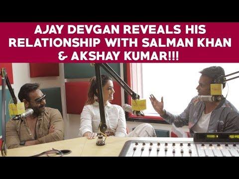 Xxx Mp4 Ajay Devgan Reveals His Relationship With Salman Khan Akshay Kumar 3gp Sex