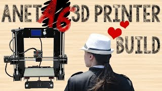 Anet A6 3d Printer Build and Review