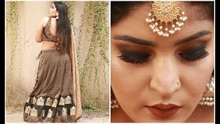 Indian Wedding Guest Makeup Tutorial | #TheShaadi Saga | Shreya Jain