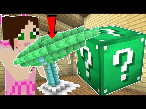 Minecraft: STRUCTURE LUCKY BLOCK (INSTANT STRUCTURES!) Mod Showcase
