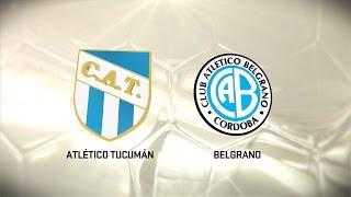 Fútbol en vivo. Atl. Tucumán - Belgrano. Fecha 11. Torneo de Primera División 2016/2017. FPT