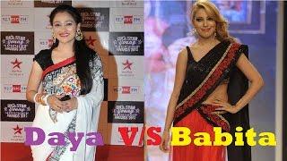 Munmun Dutta V/S Disha Vakani | Babita V/S Daya | TMKOC