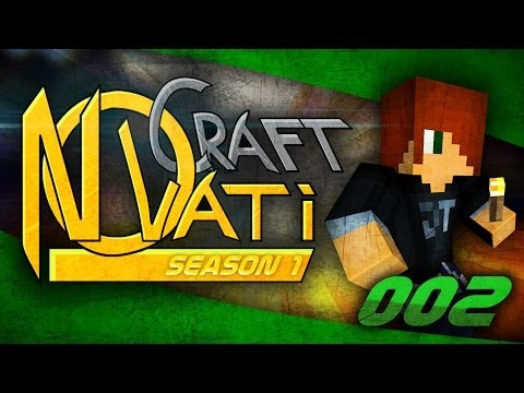NovatiCraft Season 1 - Part 2 - Minecraft Multiplayer Modded SMP/Co-op Modded Survival - Theguyordie