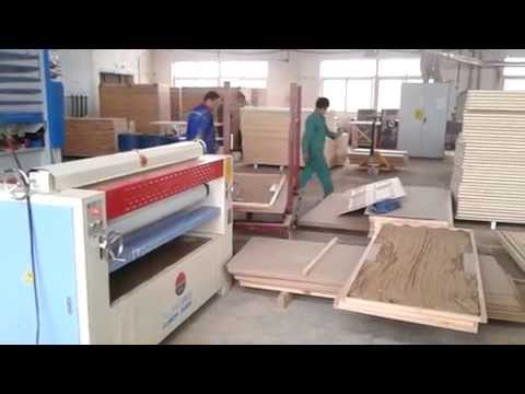 Xxx Mp4 Woodworking Machine Hot Press Machine Gluing Spread Machine For Panel Board Production 3gp Sex