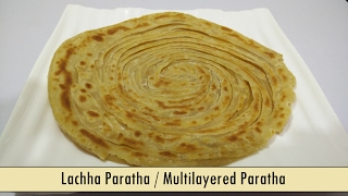 How to make Lachha Paratha / Multilayered Paratha - Recipe in Hindi by Cooking with Smita