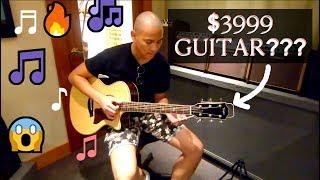 PLAYING A $4000 GUITAR? | Vlog #5
