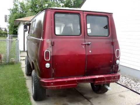 1965 Chevy Van - Part 1 - The Red Van Intro