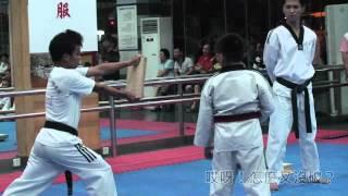 JOEY楊朕宇 跆拳道黑帶升段考試(擊破篇)Taekwondo Black Belt Testing