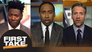 First Take argues if Patriots or Eagles were more impressive | First Take | ESPN