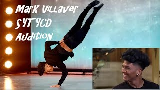 "Mark Villaver | SYTYCD full Audition | ""Let It Go"" by James Bay"
