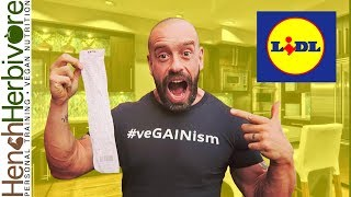 Vegan In For A Surprise At Lidl | EPIC Food Haul!