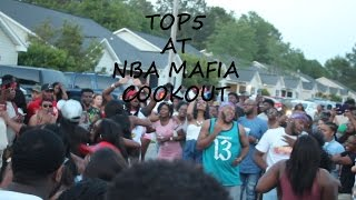 College vlog 1   TOP5 at NBA Mafia cookout