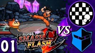 Super Smash Flash 2 Beta | PART 1 | Weaboo Showdown w/Andrew