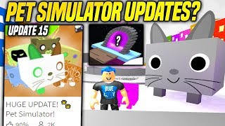 WHEN IS THE NEXT PET SIMULATOR UPDATE!? (Roblox)