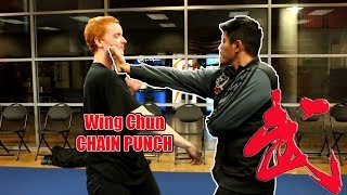 Wing Chun traditional CHAIN punch