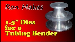 Ron Makes - A few More Bending Dies