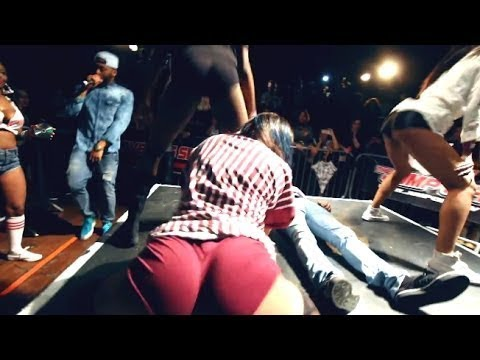 Did this Guy bust in his Jeans during a Twerking Contest ? @ The Jump Off