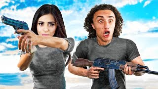 COUPLE vs. 98 ZOMBIES! (PlayerUnknown